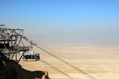 Fortaleza Israel de Masada Foto de archivo