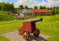 Fortaleza Kastellet em Copenhaga Imagem de Stock Royalty Free