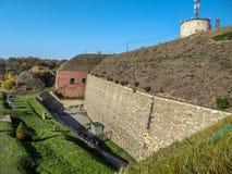 Fortaleza Klodzko em mais baixo Silesia, Polônia imagens de stock royalty free