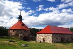 Fortaleza Korela (Kareliya) Fotografía de archivo
