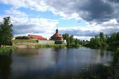Fortaleza Korela (Kareliya) Imágenes de archivo libres de regalías