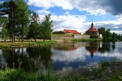 Fortaleza Korela (Kareliya) Imagenes de archivo