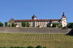Fortaleza Marienberg en Wurzburg, Alemania Imágenes de archivo libres de regalías