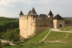 Fortaleza medieval Imagens de Stock
