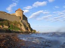 Fortaleza medieval Foto de Stock Royalty Free