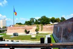 Fortaleza medieval Alba Iulia, alba, a Transilvânia Imagens de Stock Royalty Free
