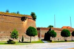 Fortaleza medieval Alba Iulia, Transilvania Imagen de archivo libre de regalías