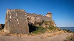 Fortaleza medieval Belgorod en Dnister Imágenes de archivo libres de regalías