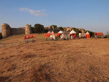 A fortaleza medieval de Mezek (Bulgária) Foto de Stock