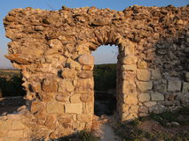 A fortaleza medieval de Mezek (Bulgária) Fotografia de Stock Royalty Free