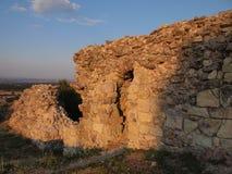 A fortaleza medieval de Mezek (Bulgária) Imagens de Stock