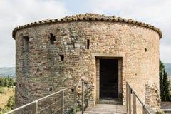Fortaleza medieval de Venetians em Brisighella Fotografia de Stock Royalty Free