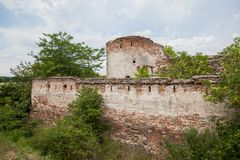 Fortaleza medieval Fetislam Serbia fotos de archivo