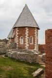 Fortaleza medieval Medvedgrad cerca de Zagreb foto de archivo libre de regalías