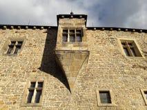 Fortaleza medieval na Europa Central fotografia de stock royalty free