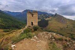 Fortaleza medieval, Transilvania, Rumania imágenes de archivo libres de regalías