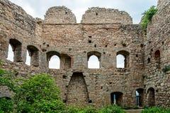 Fortaleza medieval velha Ortenbourg em Alsácia Fotos de Stock Royalty Free