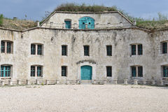 Fortaleza Monostor, Komarom, Hungría Foto de archivo libre de regalías
