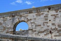 Fortaleza naval Bermudas del astillero Foto de archivo