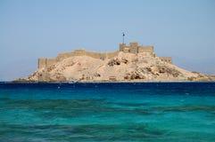 Fortaleza no Mar Vermelho Foto de Stock Royalty Free