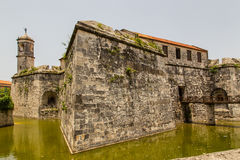 Fortaleza no porto oriental de Havana Fotos de Stock