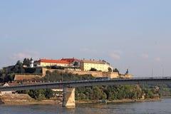 Fortaleza Novi de Petrovaradin triste Fotografia de Stock
