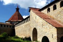 Fortaleza Oreshek Shlisselburg Fotografia de Stock
