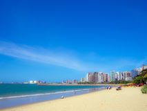 Fortaleza plaża Obrazy Royalty Free