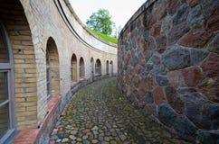 Fortaleza prussiano em Gizycko, Polônia Foto de Stock Royalty Free