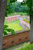 Fortaleza prussiano em Gizycko, Polônia Imagem de Stock Royalty Free