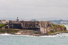 Fortaleza puertorriqueña antigua Imagen de archivo