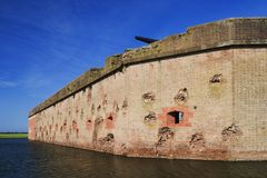Fortaleza Pulaski Imagenes de archivo