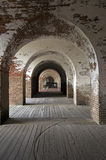 Fortaleza Pulaski Foto de archivo libre de regalías