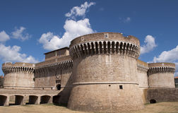 Fortaleza Rocca Roveresca em Senigallia, Italy Imagem de Stock Royalty Free