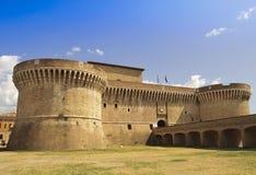 Fortaleza Rocca Roveresca em Senigallia - Italy Foto de Stock Royalty Free