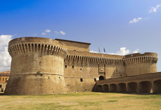 Fortaleza Rocca Roveresca en Senigallia - Italia Foto de archivo libre de regalías