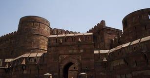 Fortaleza roja de Mughal de Agra Imagen de archivo