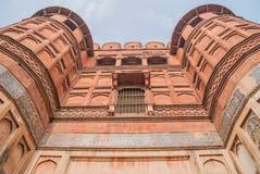 Fortaleza roja en Agra Foto de archivo libre de regalías