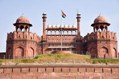 Fortaleza roja en Delhi Imagen de archivo libre de regalías