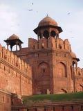 Fortaleza roja en Delhi en la India Fotografía de archivo