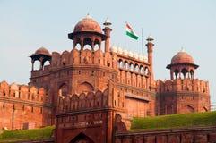 Fortaleza roja la India Foto de archivo libre de regalías