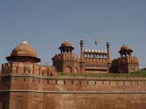 Fortaleza roja (Lal Qila) Fotografía de archivo
