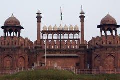 Fortaleza roja, Nueva Deli Imágenes de archivo libres de regalías