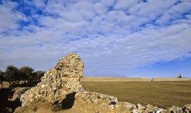 Fortaleza romana Imagenes de archivo