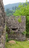 Fortaleza romana antigua. Gonio. Georgia. Imagen de archivo