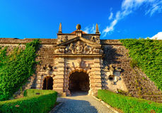 Fortaleza Rosenberg - Kronach Fotografia de Stock Royalty Free