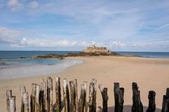 Fortaleza Saint Malo Imagens de Stock