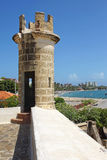 Fortaleza San Carlos Borromeo, Pampatar, Isla Margarita imagen de archivo