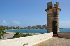 Fortaleza San Carlos Borromeo, Pampatar, Isla Margarita foto de archivo