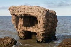 Fortaleza septentrional vieja abandonada Fotos de archivo